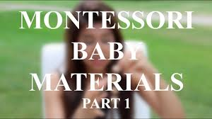 <b>Montessori Baby Materials</b>/<b>Toys</b> | Part 1 - YouTube
