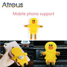 Atreus vents <b>car multifunctional</b> cartoon phone stand for Citroen C4 ...