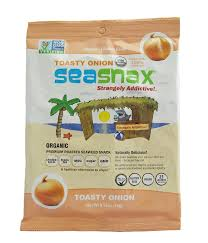 Sea Snacks - SeaSnax <b>Toasty Onion Roasted Seaweed</b> Snack