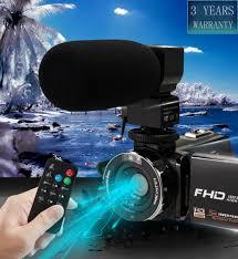 <b>KOMERY New Arrivals Video</b> Camera Camcorder 3.0 inch IPS HD ...