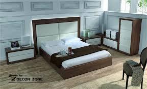 orange bedroom with dark brown modern furniture bedroom furniture designs pictures