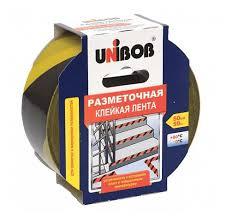 <b>Клейкая лента разметочная UNIBOB</b> 517316, 50 мм x 50 м ...