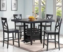 tall dining chairs counter: counter height table with storage counter height table with storage black counter height dining room sets d