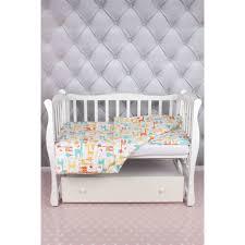 <b>Комплект постельного белья AmaroBaby</b> Baby Boom Жирафики в ...
