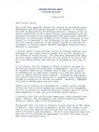 appointment letter from general william westmoreland vietnam ier appointment letter from general william westmoreland
