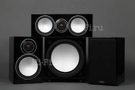 <b>Комплект</b> акустики окружающего звучания <b>Monitor</b> Audio Silver