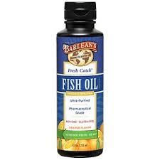 <b>Fresh Catch Fish Oil</b> 8 oz by Barlean's Organic Oils
