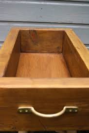 <b>Solid storage box</b> - handmade from <b>reclaimed</b> wood > Ready for ...