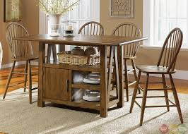 dining room pub style sets: pub style kitchen table sets also bar height dining table t m l f varnished