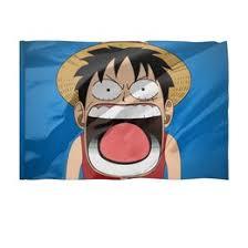 """<b>Флаги 135x90 см</b> c стильными принтами """"Аниме/хентай"""" - <b>Printio</b>"""