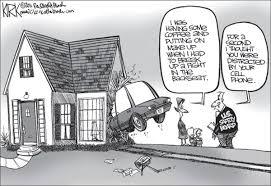 Distracted Driving Cartoons via Relatably.com