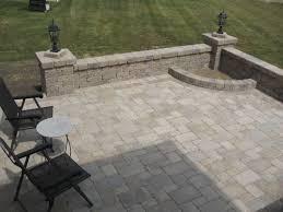 outdoor fireplace paver patio: patio installation delaware ohio   orig patio installation delaware ohio