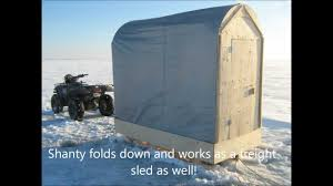 Ice Fishing Shanty Plans     Build your very own q   YouTubeIce Fishing Shanty Plans     Build your very own q