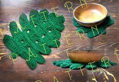 <b>Monstera Leaf</b> Crochet Pattern <b>Tropical plant monstera</b> deliciosa ...