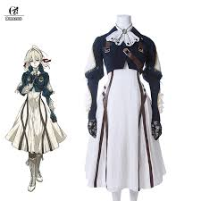 <b>ROLECOS Violet Evergarden Cosplay</b> Costume Anime Cosplay ...
