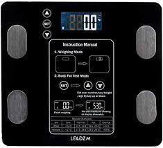180kg/100g Digital Body Fat Scale Health Analyser ... - Amazon.com