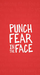 screen background image handy living: tap on image for more inspiring quotes punch fear iphone wallpaper quotes