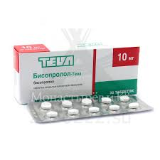 Купить <b>Бисопролол</b>-<b>Тева</b> таблетки покрытые пленочной ...