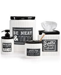 dark gray bathroom collection avanti chalk it up bath accessories collection