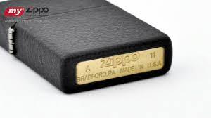 <b>Зажигалка Zippo</b> Black Crackle 236 - YouTube