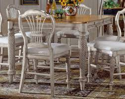 tabacon counter height dining table wine: cheap hillsdale furniture wilshire counter height gathering table antique white