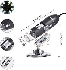 USB <b>Digital Microscope 3 in</b> 1 Digital Microscope 1600X Portable ...