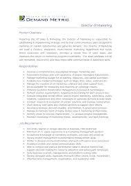 best photos of job descriptions job description examples marketing manager job description