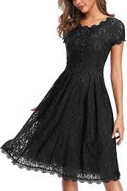 OWIN <b>Women's</b> 1950s <b>Vintage Retro Floral</b> Cocktail Party Swing ...