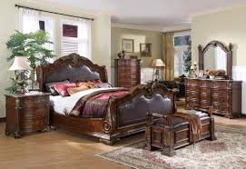 classic wooden bed bedroom set