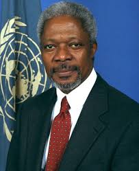 Kofi Annan Quotes | Making a Difference via Relatably.com