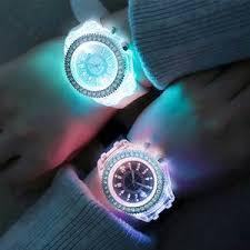 Купите <b>led flash luminous</b> watch personality trend students lovers ...