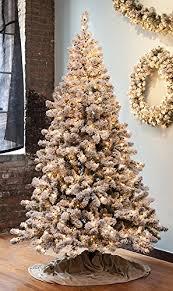 gki bethlehem lighting pre lit snowy pine flocked medium artificial christmas tree with clear lights amazoncom gki bethlehem lighting pre lit