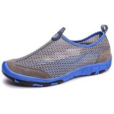 Men's <b>Summer Mesh</b> Fabric Breathable Sports Shoes Slip-on Sale ...