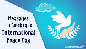 International Peace Day Messages | Peace Quotes – 21 September