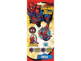 <b>Тату Action</b>! <b>цветные Spiderman</b> 17,5*9 см купить в детском ...