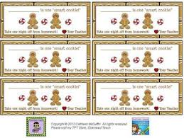 Free Holiday Homework Passes     Different Designs