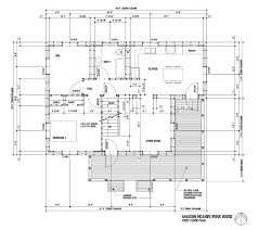 NB Superinsulated House  April MAISON GRANDE DIGUE HOUSE   First Floor  FIRST FLOOR PLAN