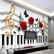 <b>beibehang Custom</b> wallpaper murals <b>any size</b> photo 3D guitar rock ...
