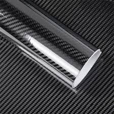 <b>1m</b>/2m/3m/4m/ * 50cm 5D Gloss Car <b>Carbon</b> Fiber Vinyl Wrap ...
