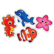 "<b>Пазл Умка</b> ""Морские животные"" 4 детали, 256811"