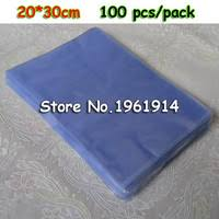 pvc heat shrink bags clear membrane plastic cosmetic packaging plastic shrinkable pouch