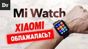 ОБЗОР <b>Xiaomi Mi Watch</b> VS Apple <b>Watch</b> - YouTube