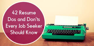 resume dos and don    ts   resume tips   theresume dos and don    ts   resume tips   the muse