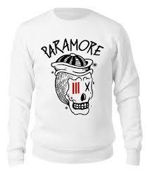 "Свитшот унисекс хлопковый ""Paramore"" #2309968 от geekbox ..."