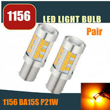 <b>1x</b> 1156 22-SMD <b>BA15S</b> P21W LED Turn Signal Lights Bulb ...