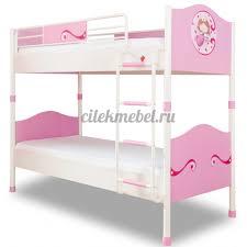 <b>Двухъярусная кровать Cilek Princess</b> - купить по лучшей цене с ...