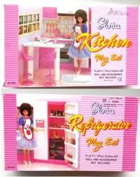 new barbie gloria doll house furniture set of 2 refrigerator kitchen barbie doll house furniture sets
