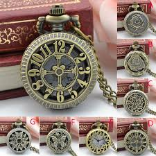 #5001 Nostalgic Punk Style Pocket Watch <b>Vintage Steampunk Retro</b> ...