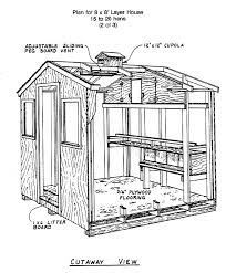 Small Chicken Housecutaway gif   bytes