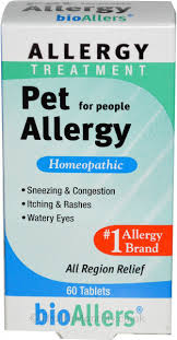Natrobio <b>Bioallers Pet Allergy Treatment</b> for People   60 Tablets ...